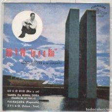Discos de vinilo: IZZIO GROSS Y SU CONJUNTO. RIO Y YO. CUBALEGRE 1963. EP. Lote 78788821