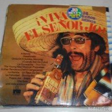 Discos de vinilo: LP. ¡VIVA EL SEÑOR JO!. 28 EXITOS LATINOS. ARIOLA STEREO. 1978. Lote 78817405