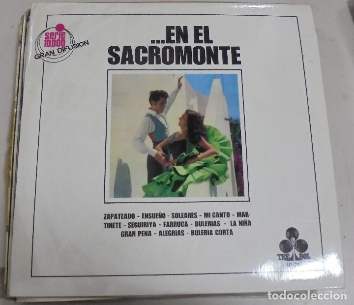 LP. ...EN EL SACROMONTE. GRUPO GITANO DEL SACROMONTE. TREBOL. 1970 (Música - Discos - LP Vinilo - Flamenco, Canción española y Cuplé)