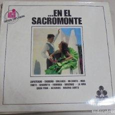 Discos de vinilo: LP. ...EN EL SACROMONTE. GRUPO GITANO DEL SACROMONTE. TREBOL. 1970. Lote 78817541