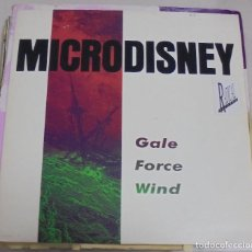 Discos de vinilo: LP. MICRODISNEY. GALE FORCE WIND. 1988. VIRGIN RECORDS. Lote 78818793