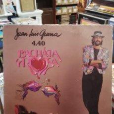 Discos de vinilo: JUAN LUIS GUERRA 4.40 - BACHATA ROSA - LP.. Lote 78827009