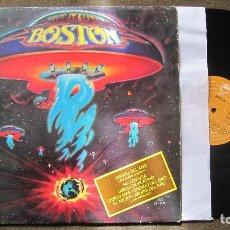 Discos de vinilo: BOSTON: LP Nº1 EN USA Y DISCO DE PLATINO. MORE THAN A FEELING. FUNCIONANDO. Lote 78827545