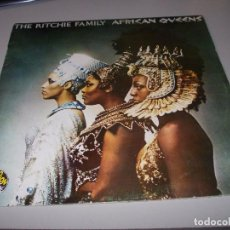 Discos de vinilo: THE RITCHIE FAMILY, AFRICAN QUEENS. RCA SPL 1-7111, 1.977. Lote 78827573