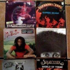 Discos de vinilo: LOTE DE 8 DISCOS DE VINILO DE 45 RPM. Lote 78832621