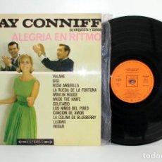 Discos de vinilo: RAY CONNIFF - ALEGRIA EN RITMO - LP STEREO SPAIN 1963 EX EX. Lote 78833113