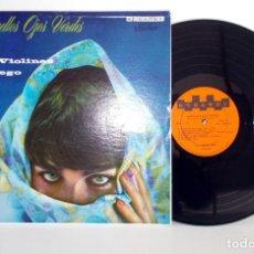 Discos de vinilo: LOS VIOLINES DE PEGO - AQUELLOS OJOS VERDES - LP KUBANEY SMT-118 EX / VG+. Lote 78833573