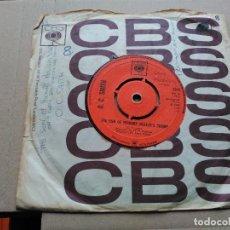 Discos de vinilo: 7'' O.C. SMITH - THE SON OF HICKORY HOLLER'S TRAMP - CBS UK 1968 VG+. Lote 78839401