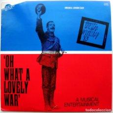 Discos de vinilo: ORIGINAL LONDON CAST - OH WHAT A LOVELY WAR - LP THAT'S ENTERTAINMENT RECORDS 1983 UK BPY. Lote 78846789