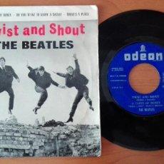 Discos de vinilo: BEATLES EP TWIST AND SHOUT ED.ESPAÑA. Lote 78833973
