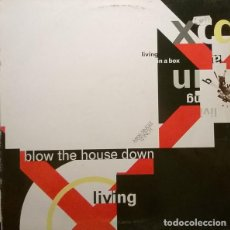Discos de vinilo: LIVING IN A BOX BLOW THE HOUSE DOWN,. Lote 78855637