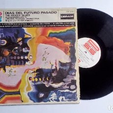 Disques de vinyle: THE MOODY BLUES DÍAS DEL FUTURO PASADO SELLO DERAM 1976. Lote 78866133