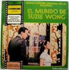 Discos de vinilo: GEORGE DUNING - EL MUNDO DE SUZIE WONG (THE WORLD OF SUZIE WONG) - LP RCA 1981 BPY. Lote 78895433