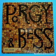 Discos de vinilo: PORGY AND BESS (SINGLE 1960) (NUEVO) ELLA FITZGERALD Y LOUIS ARMSTRONG - SUMMERTIME -JAZZ GERSHWIN. Lote 78898861