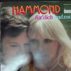 Discos de vinilo: HAMMOND FUR DICH. Lote 78899577