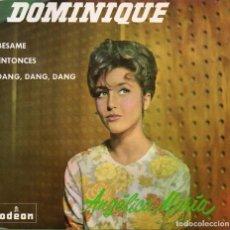 Discos de vinilo: ANGELICA MARIA, EP, DOMINIQUE + 3, AÑO 1964. Lote 78901761