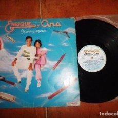 Discos de vinilo: ENRIQUE Y ANA GRANDES Y PEQUEÑOS LP VINILO DEL AÑO 1983 ESPAÑA JOSE MARIA CANO MECANO MUY RARO. Lote 78911637