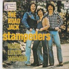 Discos de vinilo: SINGLE STAMPEDERS. 1976. SPAIN (DISCO PROBADO Y BIEN, CARÁTULA BUENA). Lote 78922021