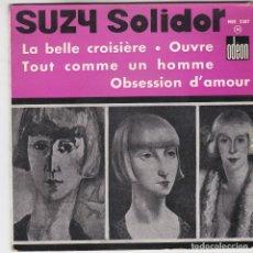 Discos de vinilo: SINGLE. SUZY SOLIDOR. FRANCE (DISCO PROBADO Y BIEN, CARÁTULA NORMAL). Lote 78925525
