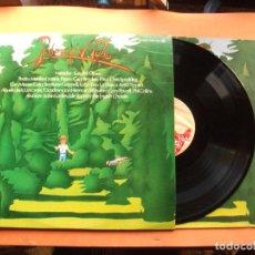 Discos de vinilo: VARIOS - PEDRO Y EL LOBO PEDRO Y EL LOBO LP SPAIN 1975 PDELUXE. Lote 78929341