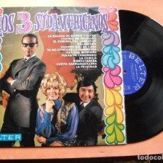 Discos de vinilo: LOS 3 SUDAMERICANOS LOS 3 SUDAMERICANOS LP SPAIN 1968 PDELUXE . Lote 78930209