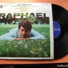 Discos de vinilo: RAPHAEL EL GOLFO - BSO LP SPAIN 1969 PDELUXE . Lote 78931217