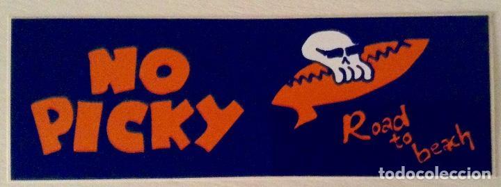Discos de vinilo: No picky ep Road to beach vinilo azul wild punk Records más adhesivo - Foto 5 - 78937929