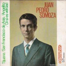 Discos de vinilo: SINGLE. JUAN PEDRO SOMOZA. 1964. SPAIN (DISCO PROBADO Y BIEN, CARÁTULA SIN DEFECTOS) . Lote 78945517