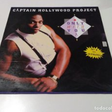 Discos de vinilo: CAPTAIN HOLLYWOOD PROJECT - ONLY WITH YOU. Lote 78946437