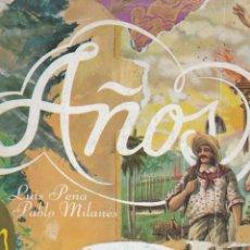 Discos de vinilo: LP LUIS PEÑA. PABLO MILANÉS. AÑOS. CUBA (DISCO PROBADO Y BIEN, CARPETA NORMAL). Lote 78947209