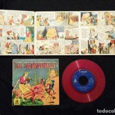 Discos de vinilo: SINGLE - LA BLANCANEUS - BLANCANIEVES - DISCOS - ODEON 1960 + CUENTO. Lote 78948121