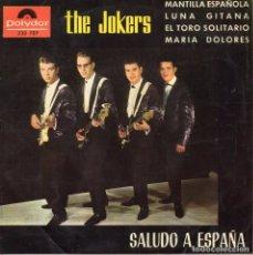Discos de vinilo: JOKERS, EP, MANTILLA ESPAÑOLA + 3, AÑO 1964. Lote 78961501