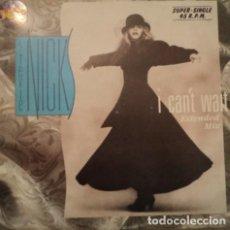 Discos de vinilo: STEVIE NICKS ?– I CAN'T WAIT (EXTENDED MIX) MAXI 1985. Lote 79006473