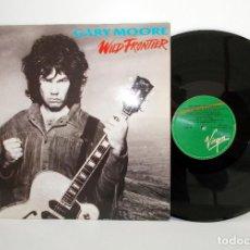 Discos de vinilo: GARY MOORE - WILD FRONTIER LP 1987 SPAIN EX VG+ E208183. Lote 79008513