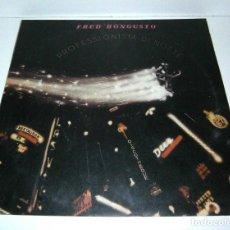 Discos de vinilo: FRED BONGUSTO - PROFESSIONISTA DI NOTTE LP VINYL - ARGENTINA 1978. Lote 79013413