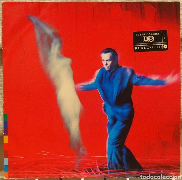 PETER GABRIEL US LP DOBLE (UK EDITION CON NOTA DE PRENSA OFICIAL) (Música - Discos - LP Vinilo - Pop - Rock Extranjero de los 90 a la actualidad)
