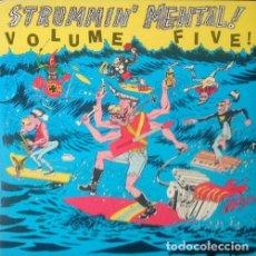 Discos de vinilo: VARIOS. STRUMMIN' MENTAL VOLUME FIVE - LP VINYL - LINK RECORDS LR-5 USA. Lote 79014257
