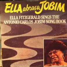 Discos de vinilo: ELLA FITZGERALD SINGS THE ANTONIO CARLOS JOBIM SONGBOOK. Lote 79019206