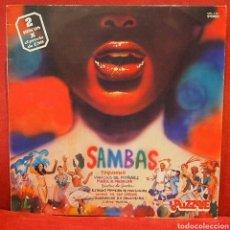 Discos de vinilo: SAMBAS DISCO DOBLE. Lote 79019363
