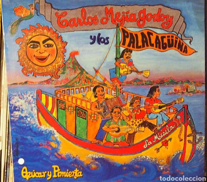 CARLOS GARCÍA GODOY AZÚCAR Y PIMIENTA 1991 (Música - Discos - LP Vinilo - Grupos y Solistas de latinoamérica)