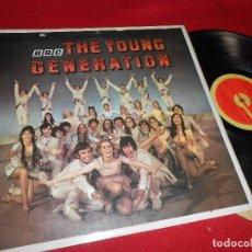 Discos de vinilo: THE YOUNG GENERATION BSO OST LP 1969 BBC EDICION INGLATERRA ENGLAND BBC TV. Lote 79024221