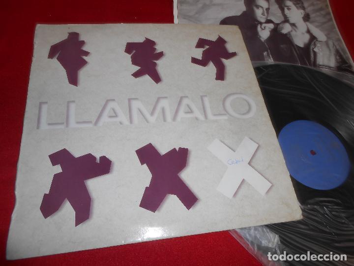 LLAMALO X LP 1988 HISPAVOX EDICION ESPAÑOLA SPAIN (Música - Discos - LP Vinilo - Grupos Españoles de los 70 y 80)