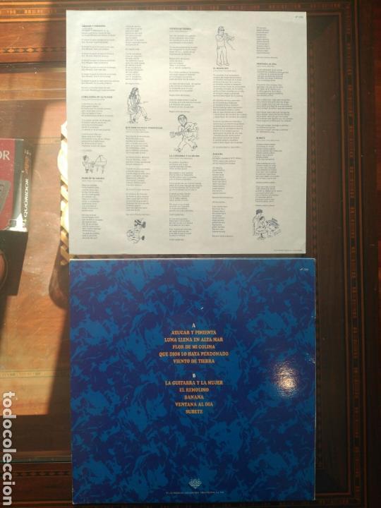 Discos de vinilo: Carlos García Godoy Azúcar y pimienta 1991 - Foto 2 - 79021147