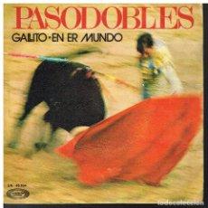 Discos de vinilo: JOSÉ AGUIRA Y SU ORQUESTA - GALLITO / EN ER MUNDO - SINGLE 1971. Lote 79033689