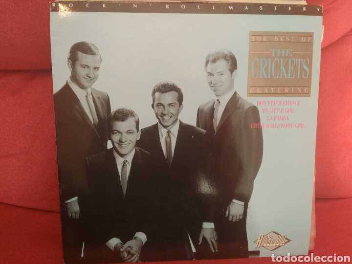 THE CRICKETS RECOPILATORIO (Música - Discos - LP Vinilo - Pop - Rock Internacional de los 50 y 60)