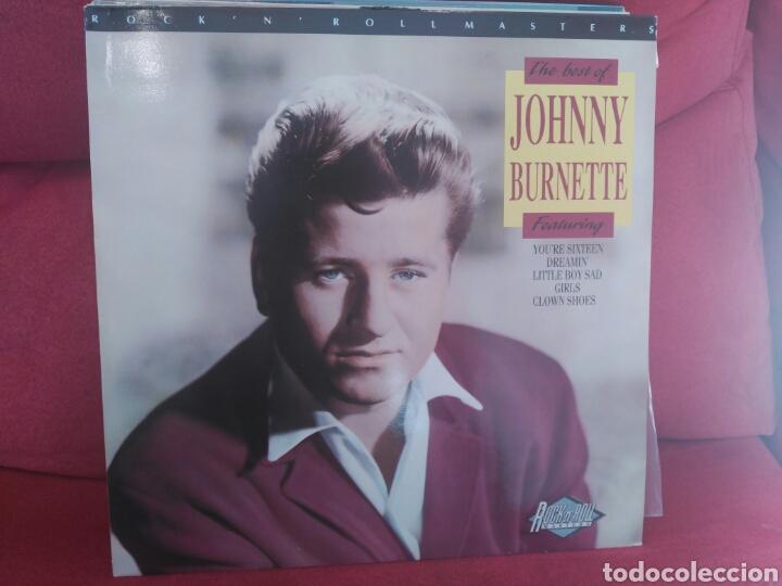 JOHNNY BURNETTE RECOPILATORIO (Música - Discos - LP Vinilo - Pop - Rock Internacional de los 50 y 60)