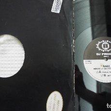 Discos de vinilo: RAGE - HOUSE OF THE RISING SUN - PROMO. Lote 79042861