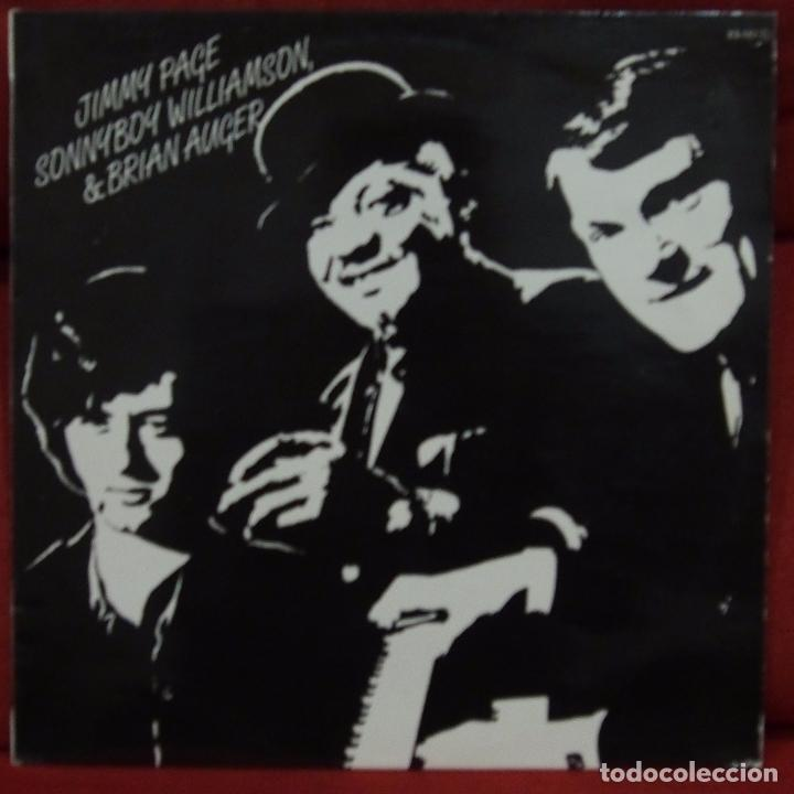 JIMMY PAGE DON'T SEND ME NO FLOWERS 1985 (1965) (Música - Discos - LP Vinilo - Jazz, Jazz-Rock, Blues y R&B)