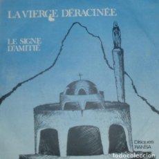 Discos de vinilo: LUCIEN ASNAR-LA VIERGE DÉRACINÉE, DISQUES RANSA-7Y PART 77.099. Lote 79052749