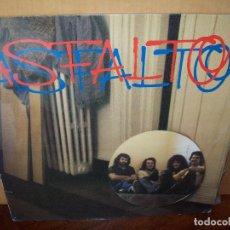 Discos de vinil: ASFALTO - ASFALTO - LP 1983. Lote 79057481